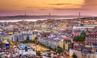 På hotel i Lissabon