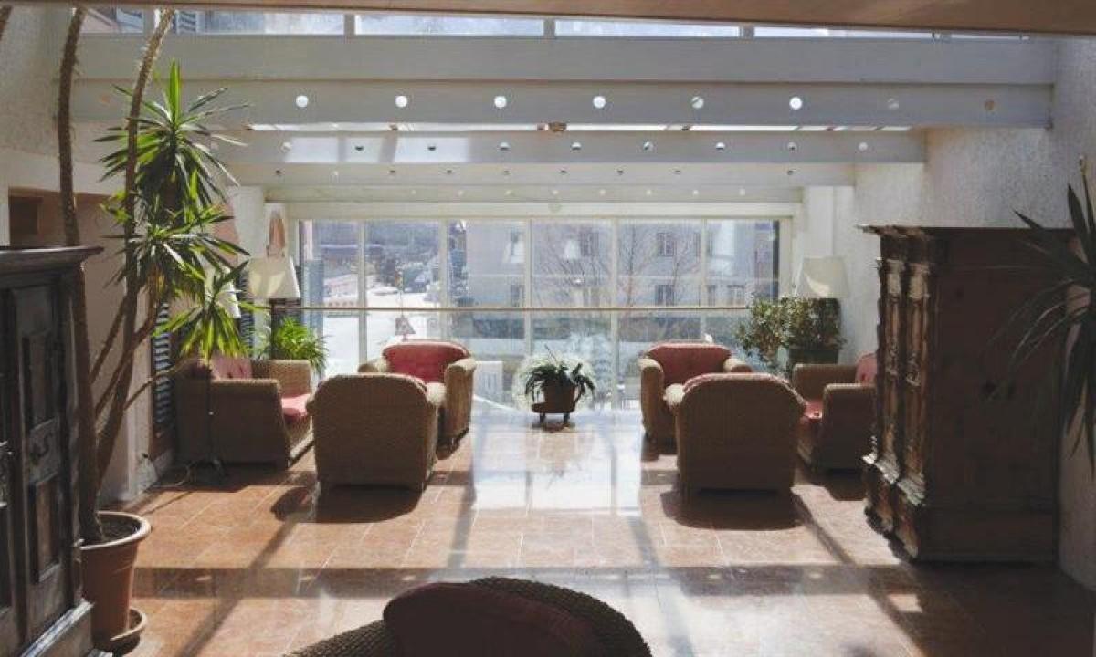 Lounge paa Hotel Lukashansl