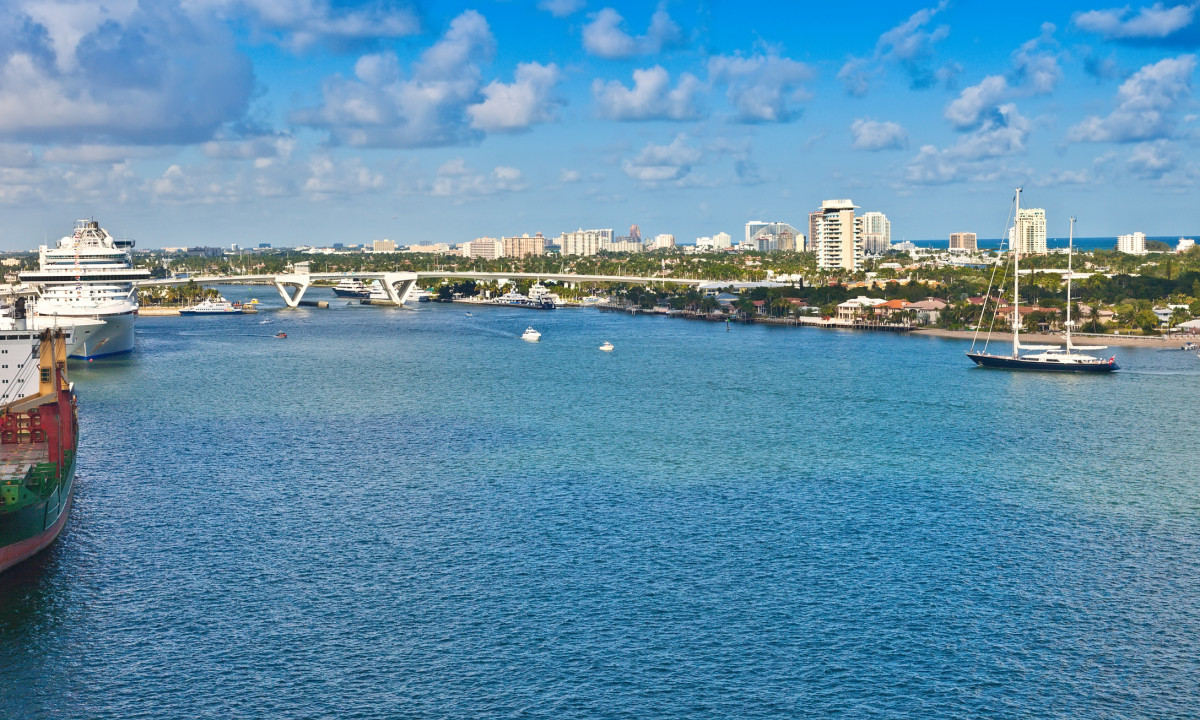 Port Everglades i Florida