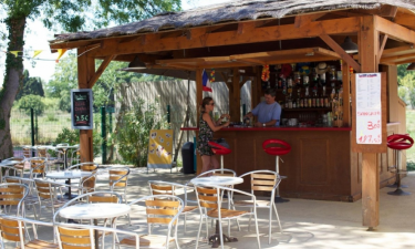 Restaurant Camping La Chapelle in Languedoc