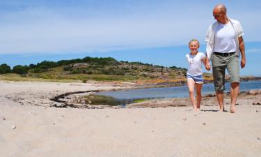 På oplevelse på Bornholm