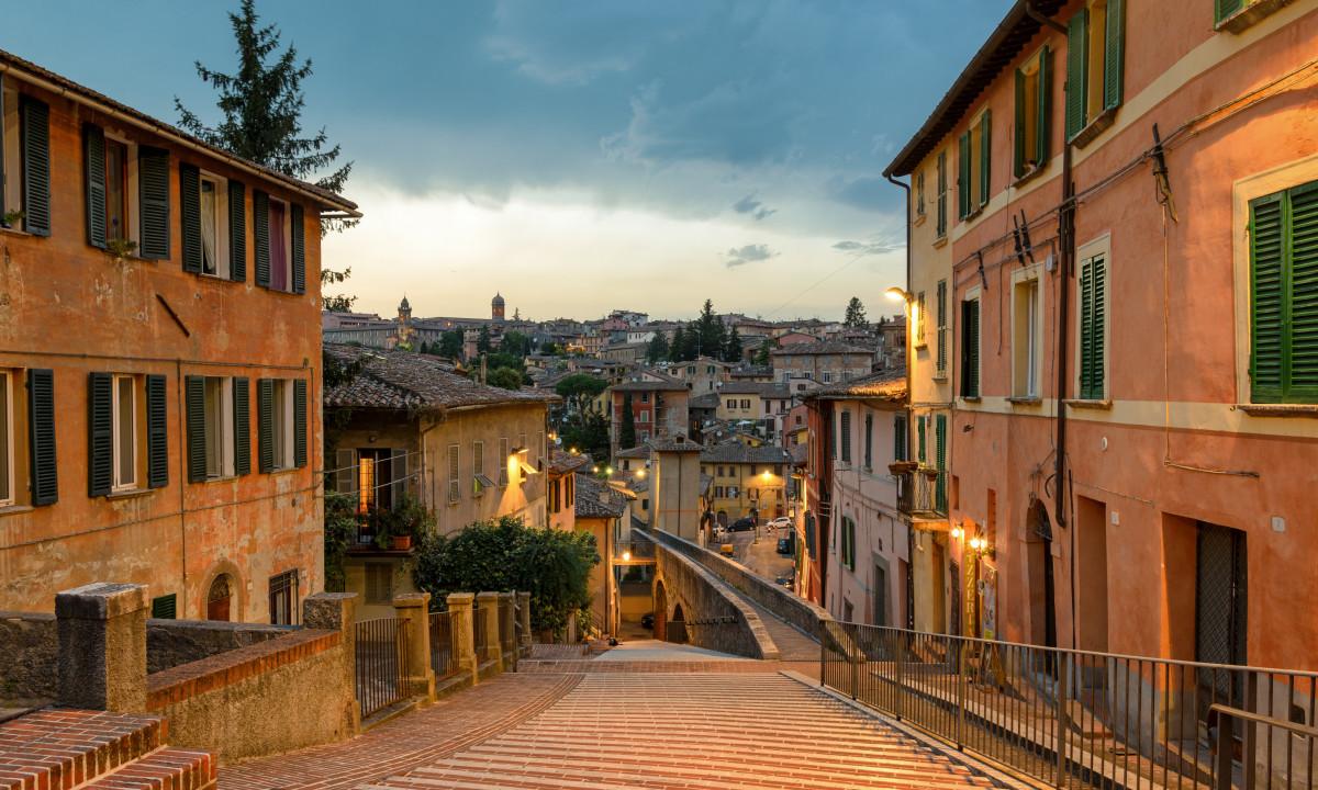 Perugia i Umbrien