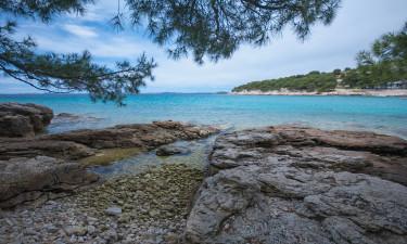 Fantastisk strand for store og små