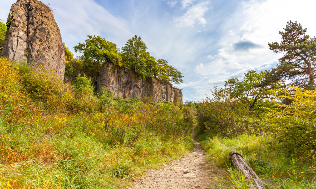 Nordrhein Westfalen i Tyskland - Vandresti i naturen