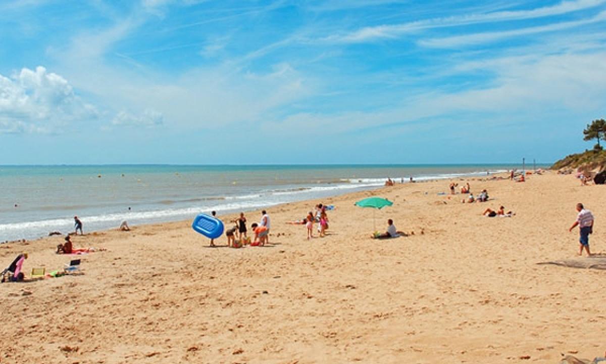 Stranden ved La Tranche sur Mer