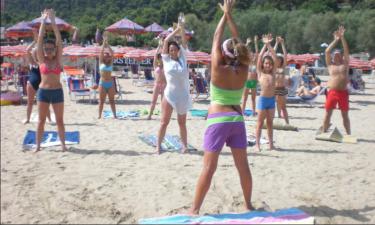 Strand Camping Turistico San Nicola in Apulien