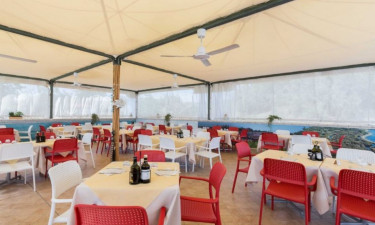 Restaurant Camping Rosolina Mare Club an der Adria