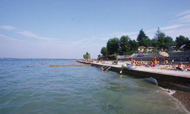 På oplevelse ved Gardasøen