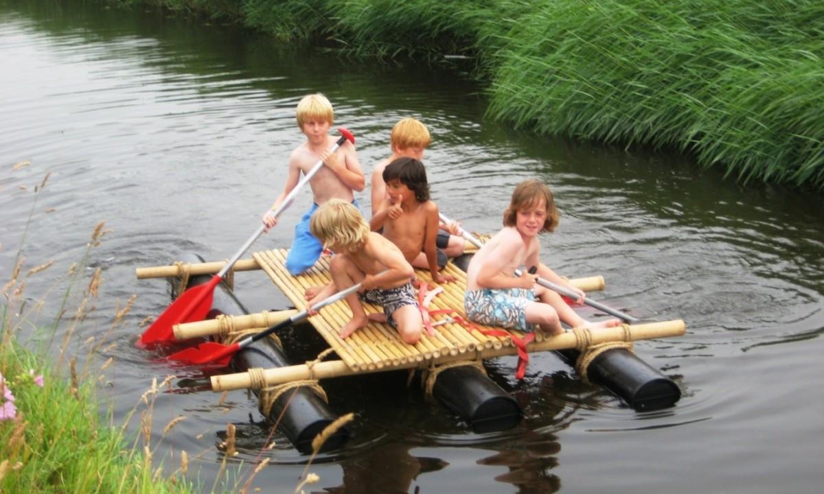 Byg en tømmerflåde