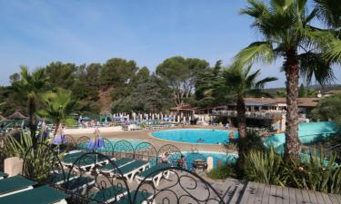 Pool Camping Esterel an der Côte d'Azur