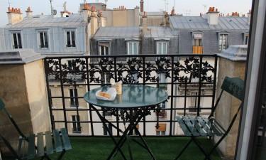 Ferielejligheder i Paris