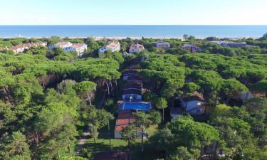 Villaggio Paradiso ferielejligheder ved Adriaterhavet i Italien - Afstand til stranden