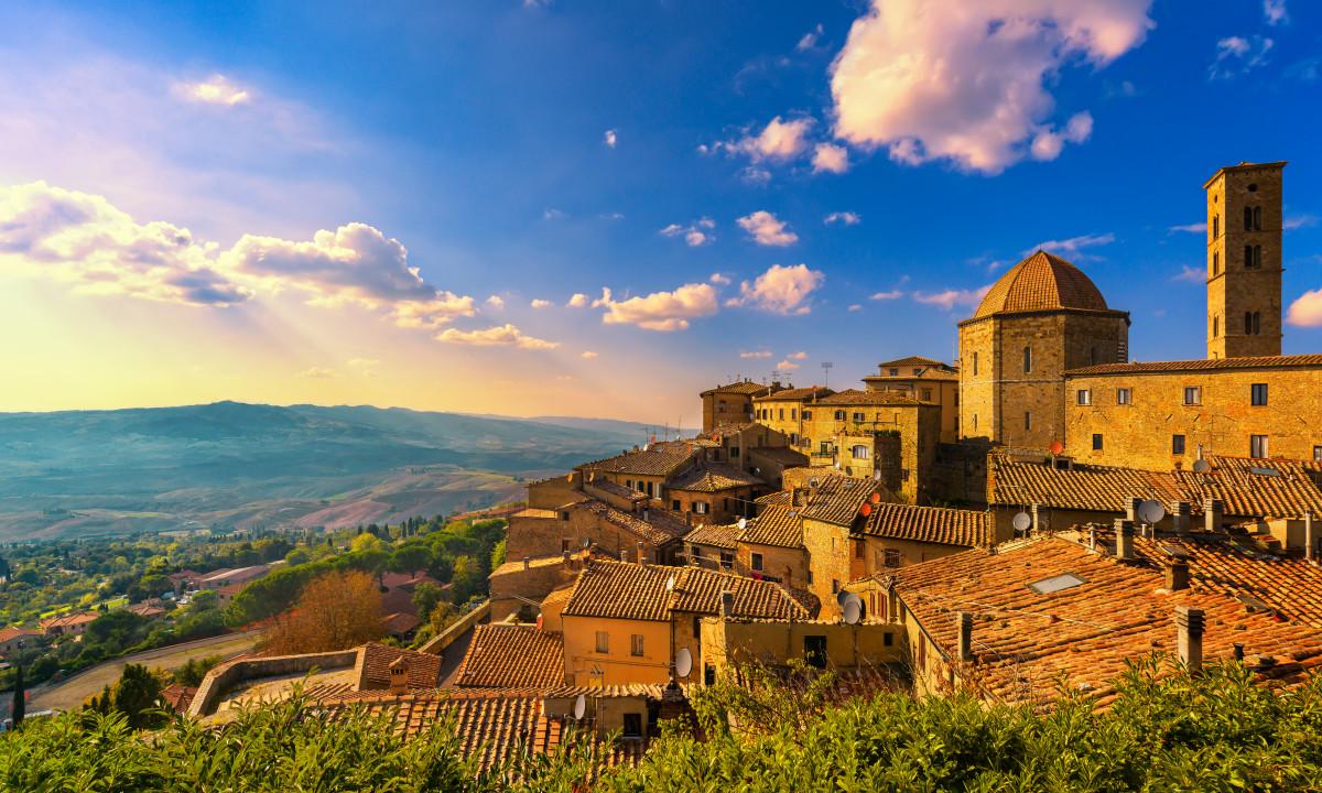 Toscana - Skøn udsigt i regionen