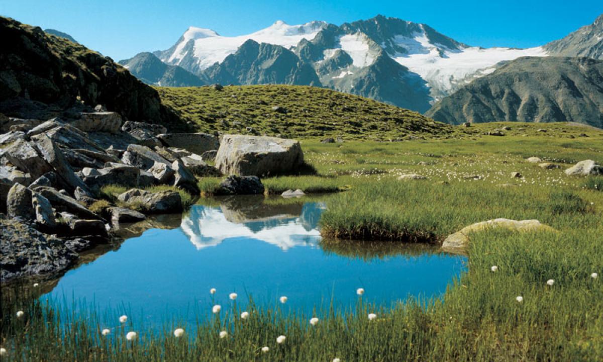 Karnten i Oestrig -  Natur med bjerge