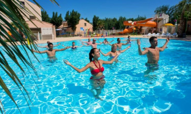 Camping les Sables du Midi in Valras Plage, Languedoc