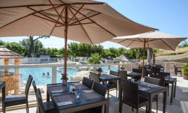 Restaurant La Pinède an der Côte d'Azur