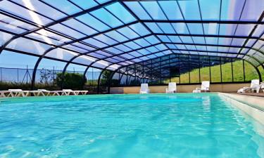 Pool Camping La Grappe Fleurie