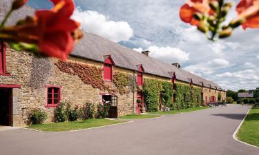 Smuk camping i Bretagne