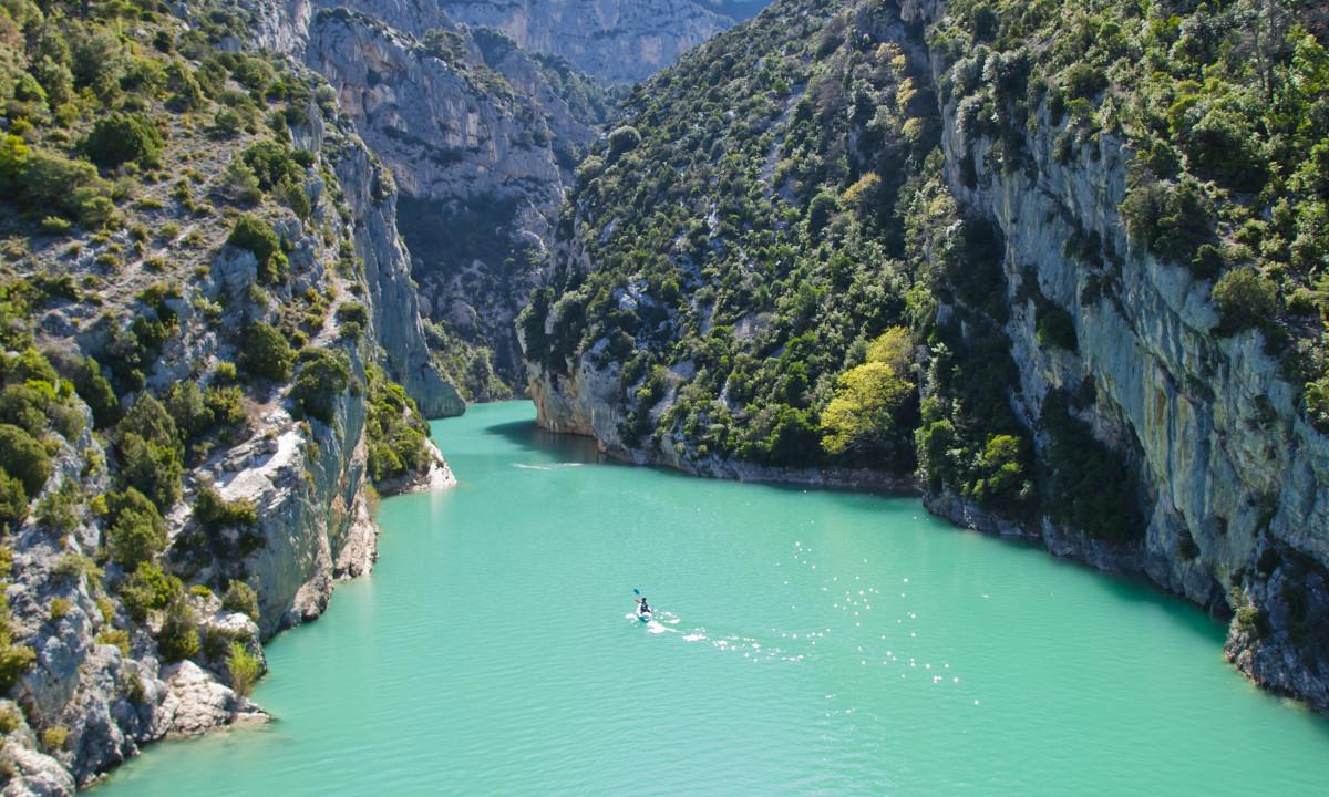Gorges du Verdon i Côte d'Azur