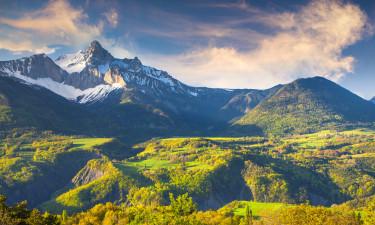 Camping i de Franske Alperne