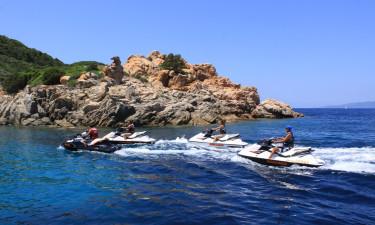 Jetski ved Korsika
