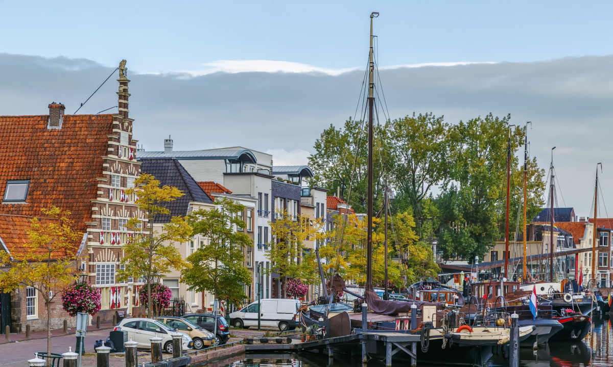 En hyggelig hollandsk by