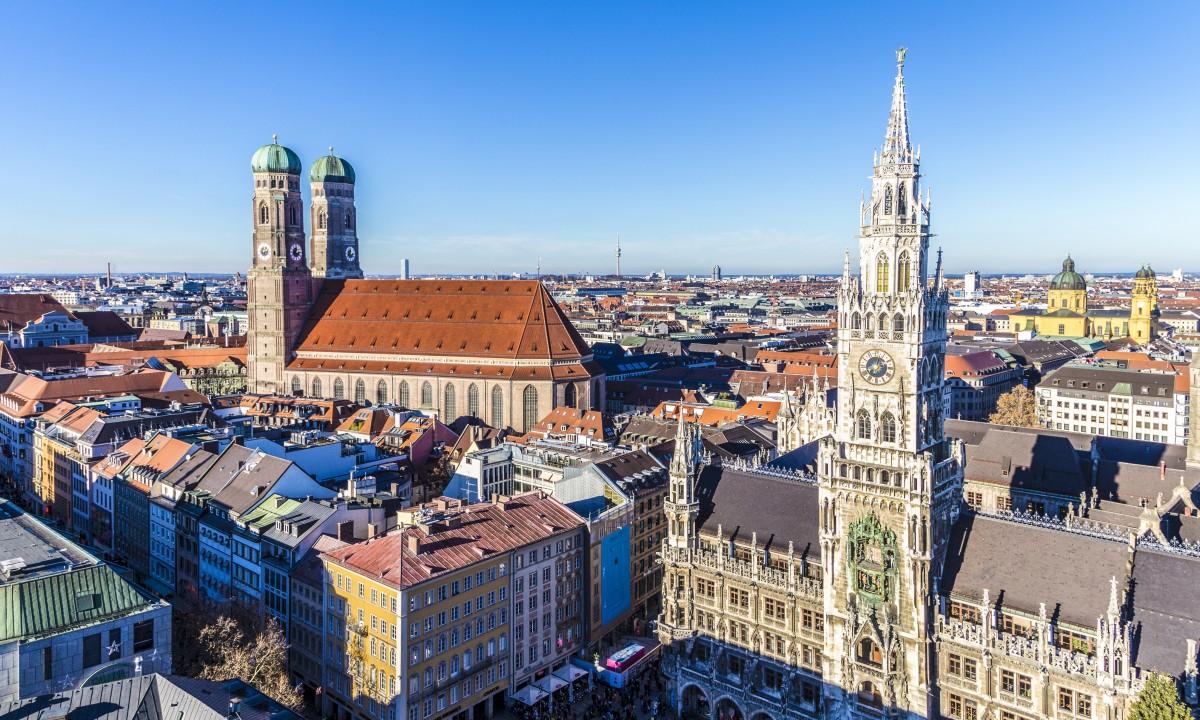 München i Sydtyskland