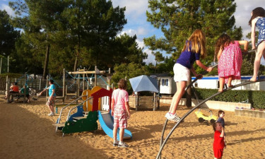 Camping for børnene