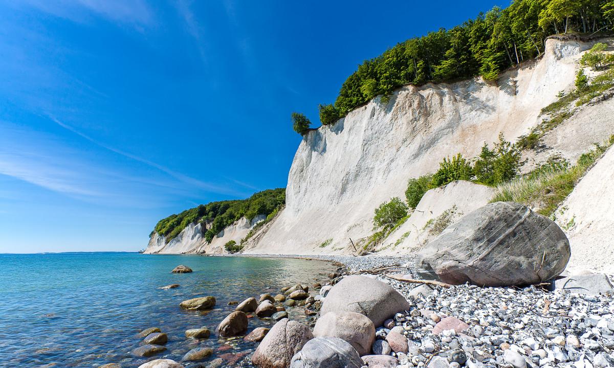 De smukke kridtklinter