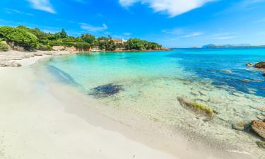 Dejlige strande på Sardinien