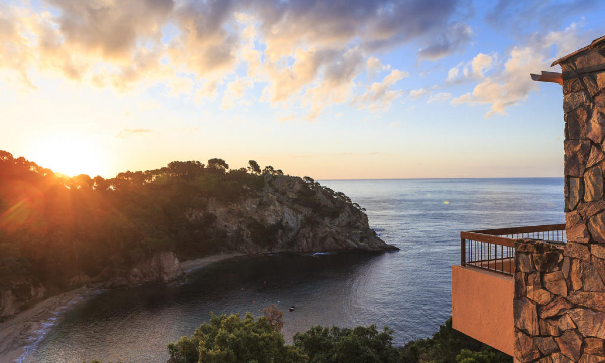 Udsigten fra Giverola Resorts ferielejligheder