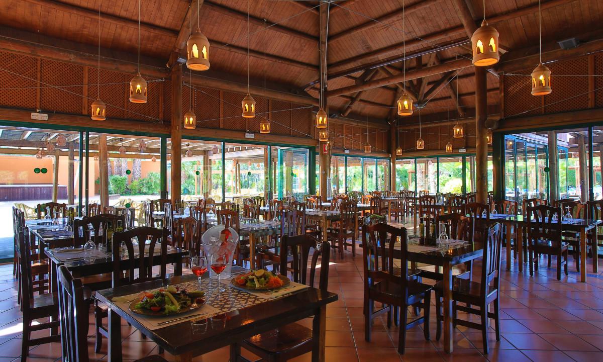 Restaurant paa Torre de la Mora