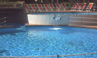 Pool Camping Il Paese di Ciribi an der Italienischen Riviera