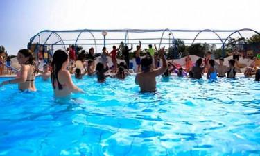 Pool Camping Les Aventuries de la Calypso in Vendée