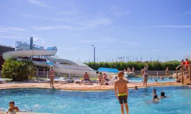 Enormt poolområde og fantastiske strande