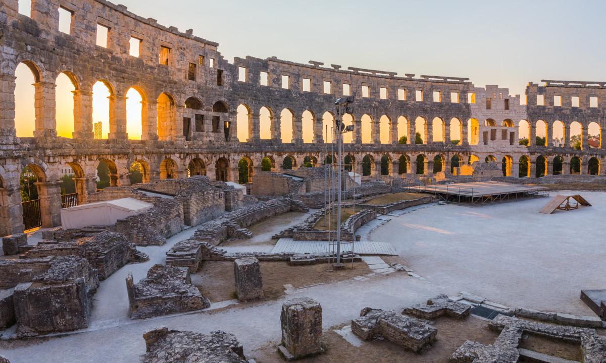 Amfiteatret i Pula