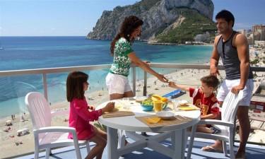 Indkoeb til mad i egen ferielejlighed