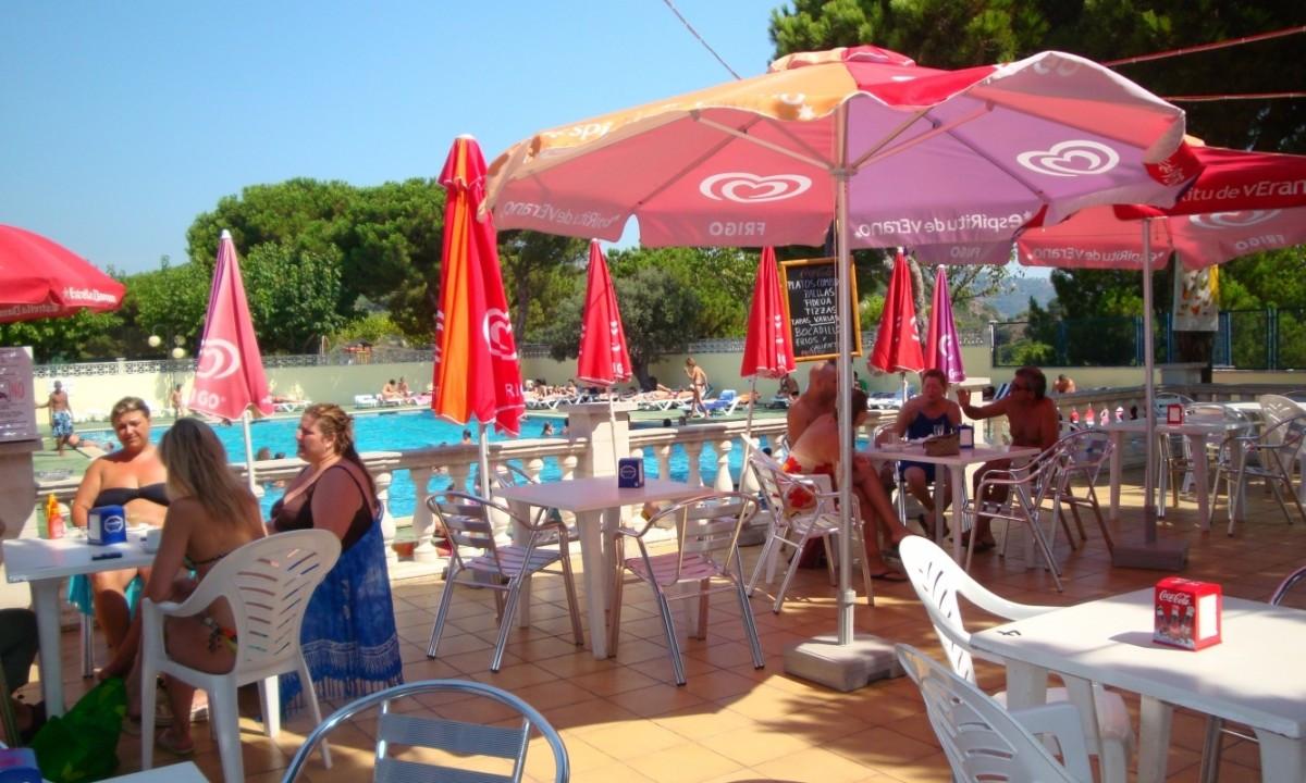 Restaurant ved poolen
