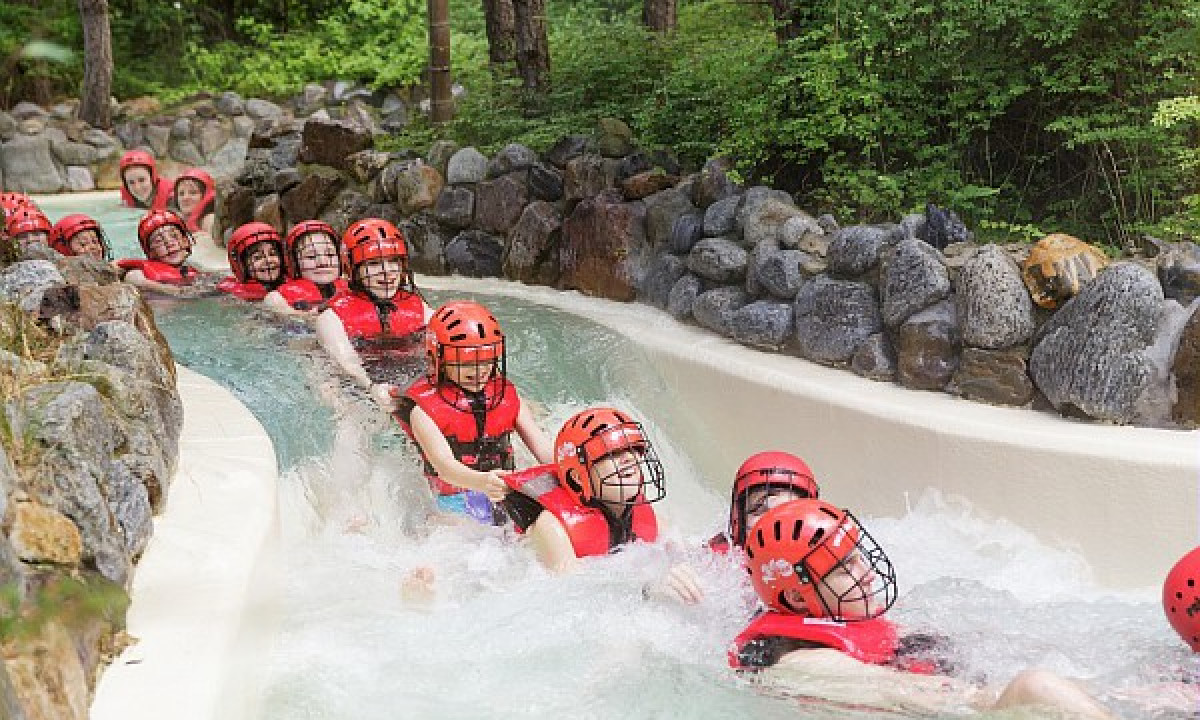 Bispinger Heide - Center Parcs populære vandrutsjebane i Tyskland