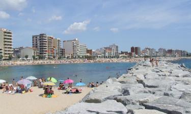 Stranden i nærheden