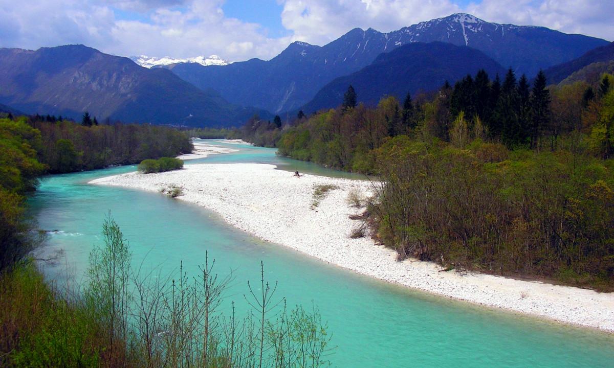 Floden Soca -