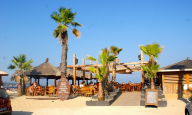Strand Camping Les Prairies de la Mer an der Côte d'Azur