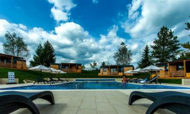Pool Camping Plitvice Holiday Resort in Zentral-Kroatien