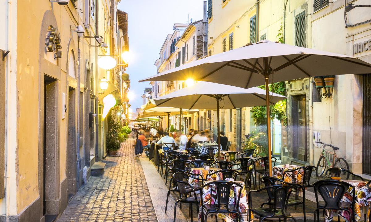 Bygade i Rom, Italien