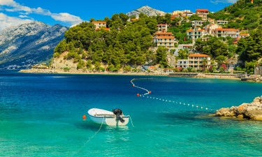 På hotel i Dalmatien