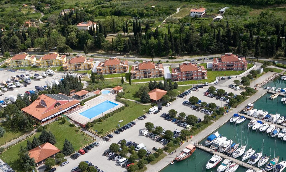 Luftfoto af feriestedet Marina Portoroz
