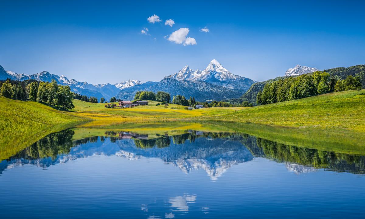 Sydtyskland - Natur