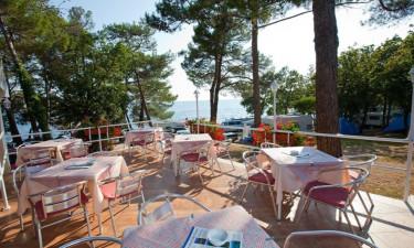 Restaurant Camping Bijela Uvala in Istrien