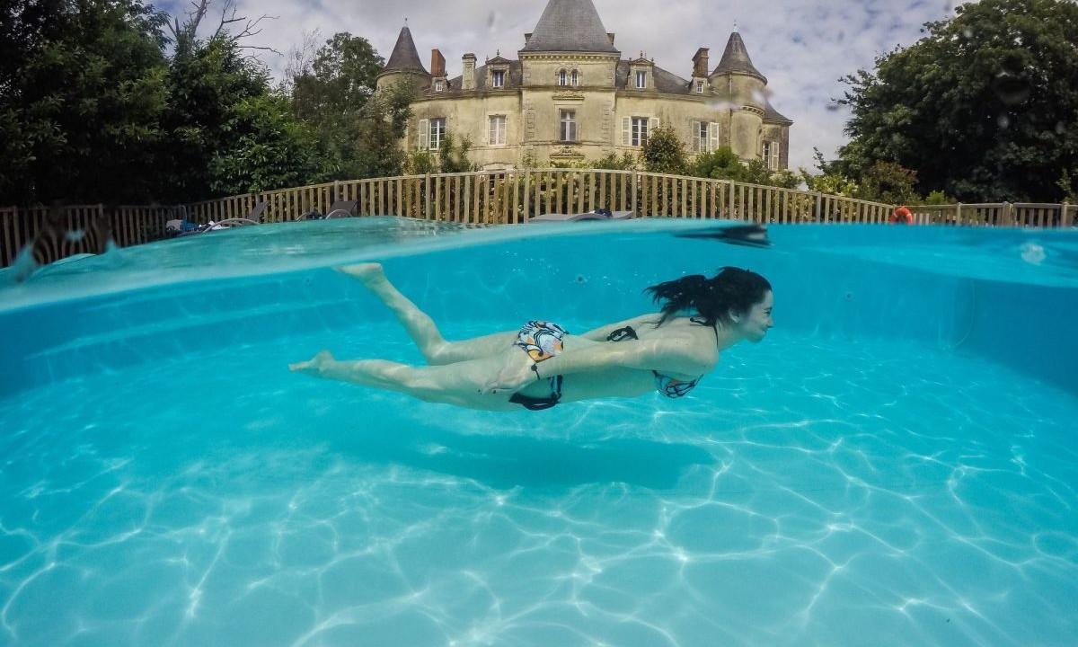 Dyk i poolen