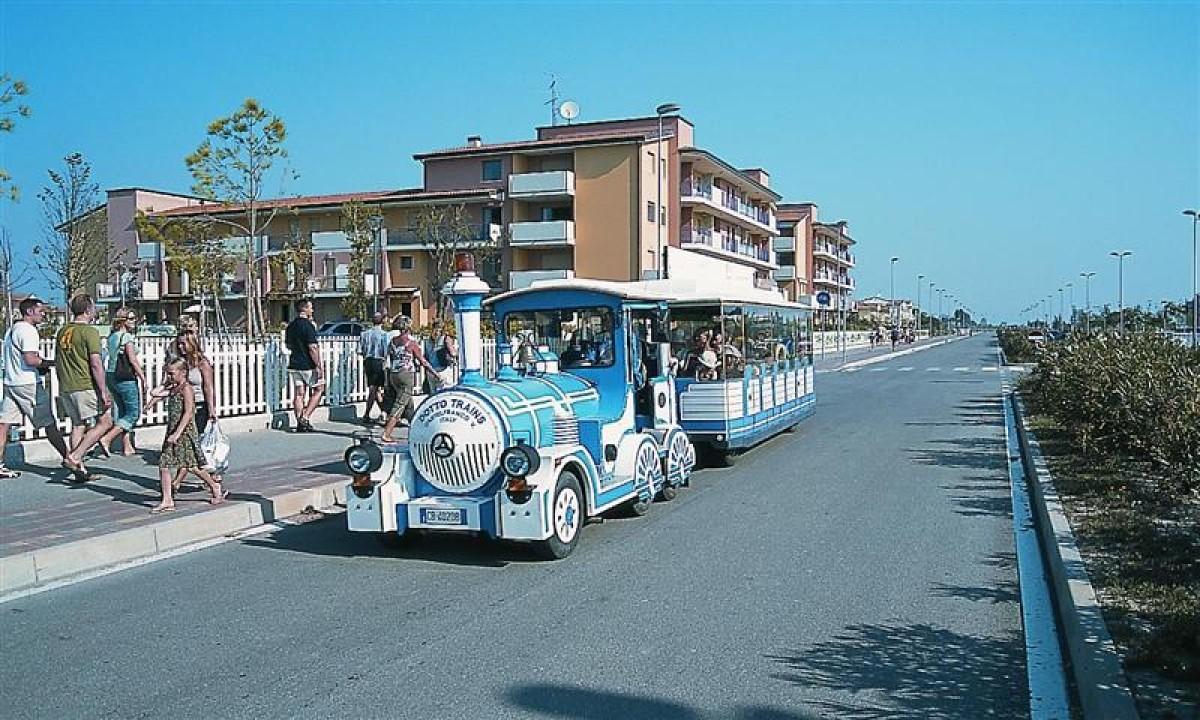 Strandpromenade ved Le Betulle